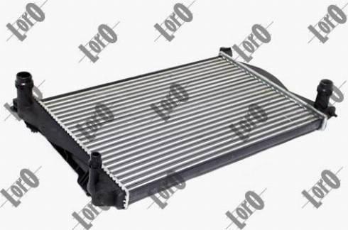 ABAKUS 003-017-0013 - Radiator, racire motor reperautotrans.ro