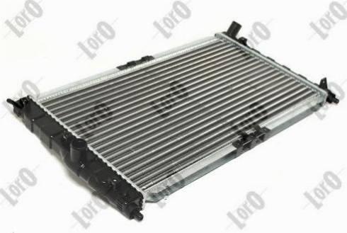 ABAKUS 011-017-0002 - Radiator, racire motor reperautotrans.ro