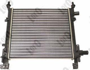 ABAKUS 017-017-0003 - Radiator, racire motor reperautotrans.ro