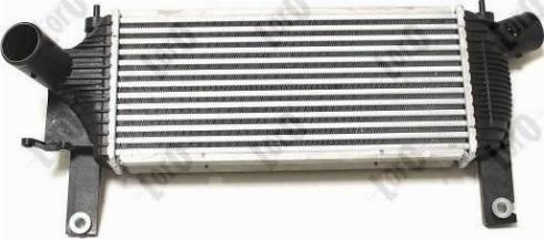 ABAKUS 035-018-0004 - Intercooler, compresor reperautotrans.ro