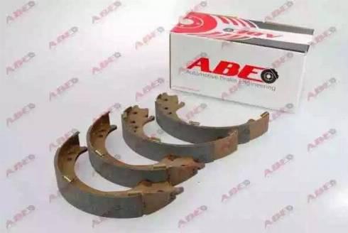 ABE C04020ABE - Set saboti frana, frana de mana reperautotrans.ro
