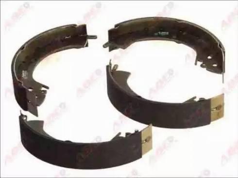 ABE C05001ABE - Setul de franare, frane cu tambur reperautotrans.ro