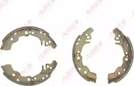 ABE C06016ABE - Setul de franare, frane cu tambur reperautotrans.ro