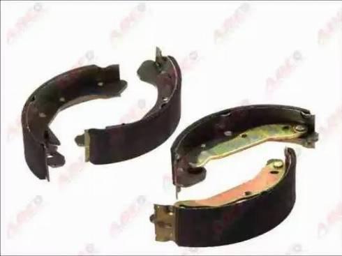 ABE C00009ABE - Setul de frânare, frâne cu tambur reperautotrans.ro