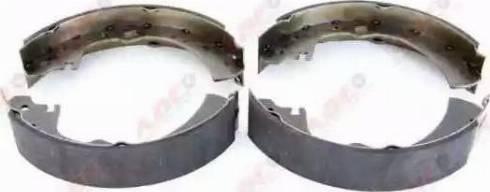 ABE C01038ABE - Setul de frânare, frâne cu tambur reperautotrans.ro