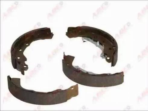 ABE C08027ABE - Setul de frânare, frâne cu tambur reperautotrans.ro