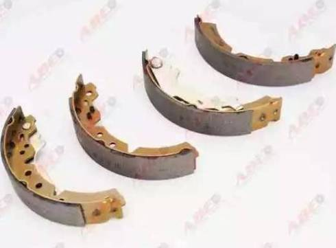 ABE C02063ABE - Setul de frânare, frâne cu tambur reperautotrans.ro