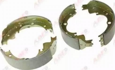 ABE C0E001ABE - Setul de franare, frane cu tambur reperautotrans.ro