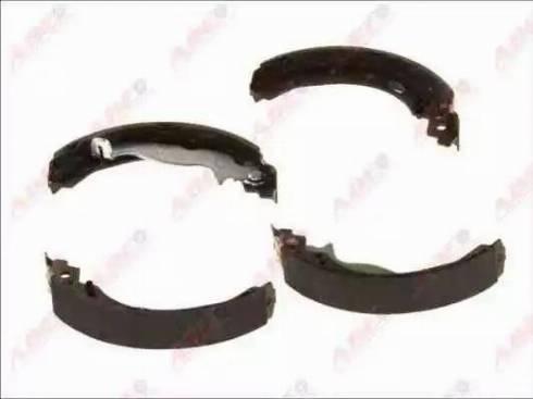 ABE C0G055ABE - Setul de frânare, frâne cu tambur reperautotrans.ro