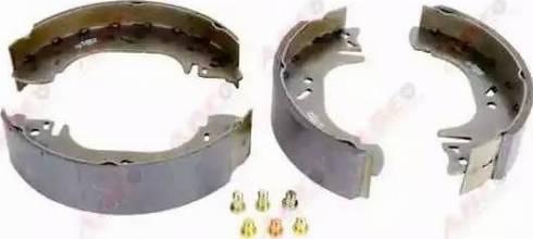 ABE C0G022ABE - Setul de franare, frane cu tambur reperautotrans.ro