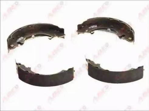 ABE C0R013ABE - Setul de franare, frane cu tambur reperautotrans.ro