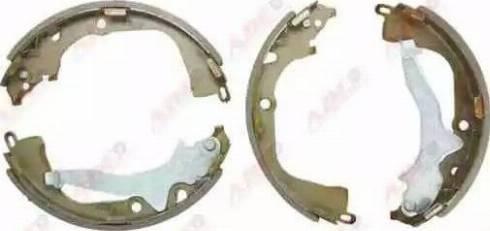ABE C0W023ABE - Setul de frânare, frâne cu tambur reperautotrans.ro