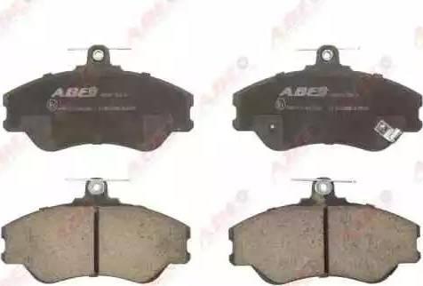 ABE C10500ABE - Set placute frana, frana disc reperautotrans.ro