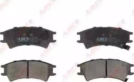 ABE C10501ABE - Set placute frana, frana disc reperautotrans.ro
