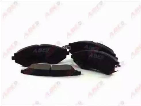 ABE C10014ABE - Set placute frana, frana disc reperautotrans.ro