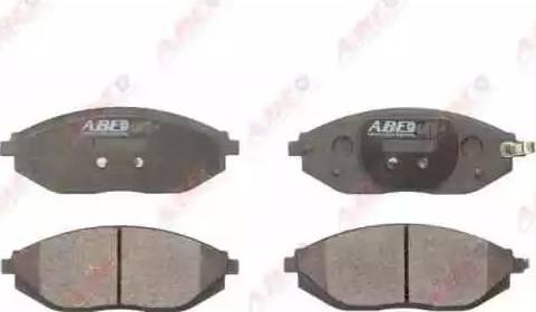 ABE C10024ABE - Set placute frana, frana disc reperautotrans.ro