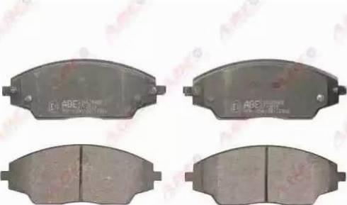 ABE C10025ABE - Set placute frana, frana disc reperautotrans.ro