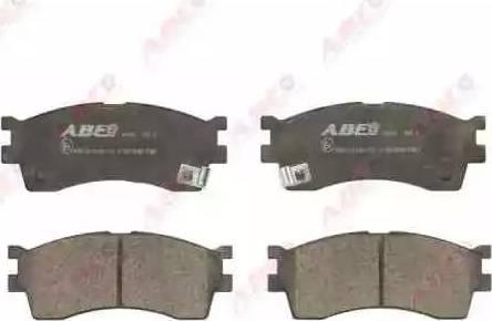 ABE C10319ABE - Set placute frana, frana disc reperautotrans.ro