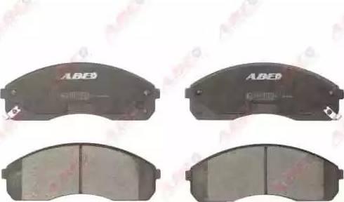 ABE C10316ABE - Set placute frana, frana disc reperautotrans.ro