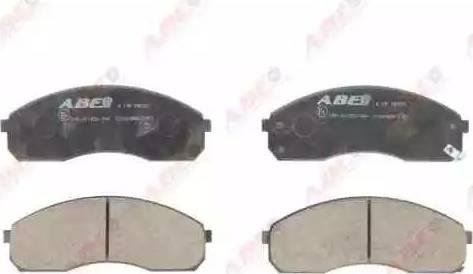 ABE C10318ABE - Set placute frana, frana disc reperautotrans.ro