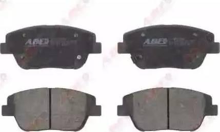 ABE C10335ABE - Set placute frana, frana disc reperautotrans.ro