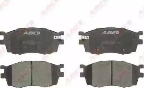 ABE C10323ABE - Set placute frana, frana disc reperautotrans.ro