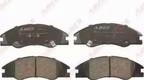ABE C10322ABE - Set placute frana, frana disc reperautotrans.ro