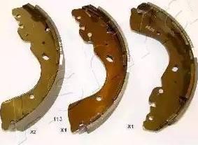 Ashika 55-01-113 - Setul de frânare, frâne cu tambur reperautotrans.ro
