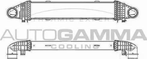 Autogamma 105634 - Intercooler, compresor reperautotrans.ro