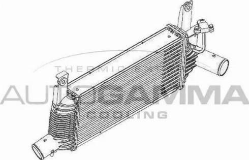 Autogamma 105098 - Intercooler, compresor reperautotrans.ro