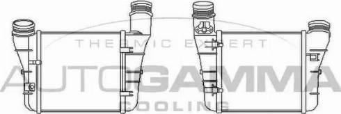 Autogamma 105851 - Intercooler, compresor reperautotrans.ro