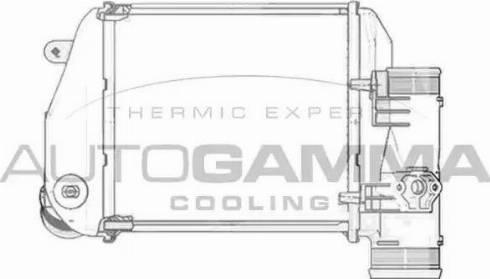 Autogamma 103769 - Intercooler, compresor reperautotrans.ro