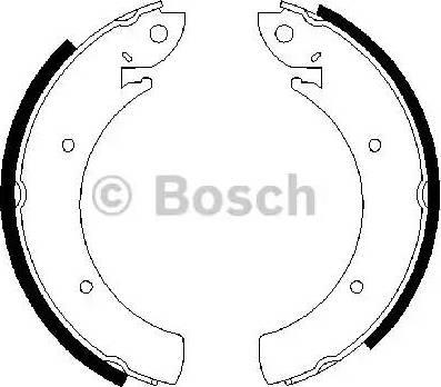 BOSCH 0 986 487 648 - Setul de franare, frane cu tambur reperautotrans.ro
