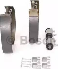 BOSCH 0 204 114 654 - Setul de frânare, frâne cu tambur reperautotrans.ro