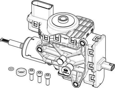 BOSCH F 01C 600 194 - Modul de livrare, injectie aditiv reperautotrans.ro