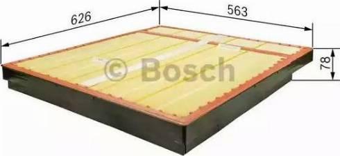 BOSCH F 026 400 094 - Filtru aer reperautotrans.ro