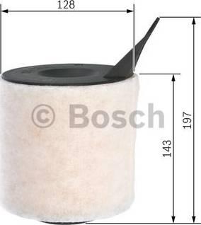BOSCH F 026 400 095 - Filtru aer reperautotrans.ro