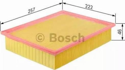 BOSCH F 026 400 096 - Filtru aer reperautotrans.ro