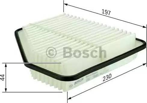 BOSCH F 026 400 098 - Filtru aer reperautotrans.ro