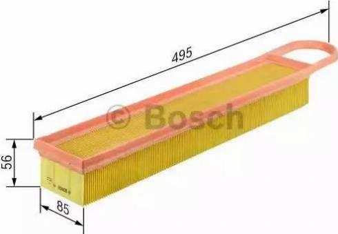 BOSCH F 026 400 050 - Filtru aer reperautotrans.ro