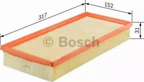 BOSCH F 026 400 053 - Filtru aer reperautotrans.ro