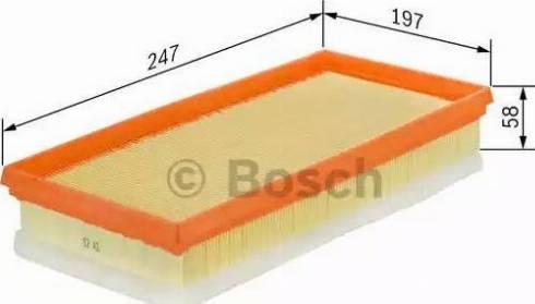 BOSCH F 026 400 052 - Filtru aer reperautotrans.ro
