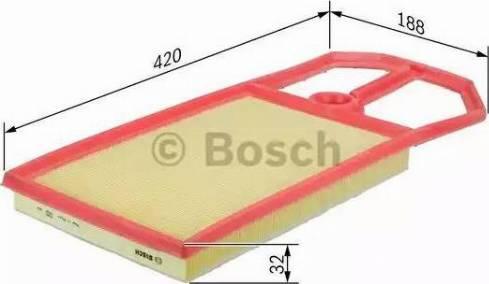 BOSCH F 026 400 019 - Filtru aer reperautotrans.ro