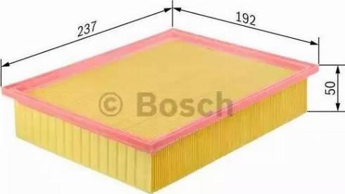 BOSCH F 026 400 025 - Filtru aer reperautotrans.ro