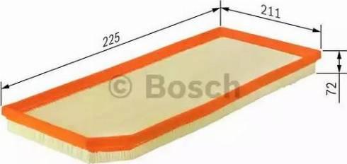 BOSCH F 026 400 026 - Filtru aer reperautotrans.ro