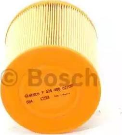 BOSCH F 026 400 027 - Filtru aer reperautotrans.ro