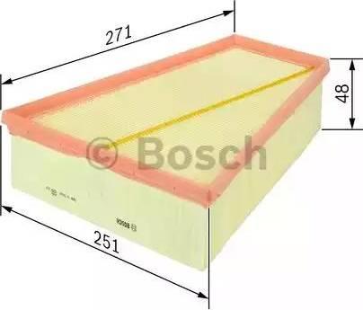 BOSCH F 026 400 149 - Filtru aer reperautotrans.ro