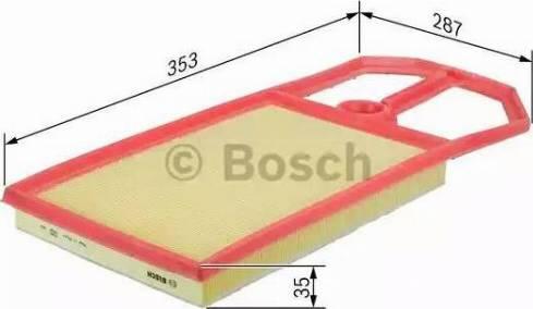 BOSCH F 026 400 148 - Filtru aer reperautotrans.ro