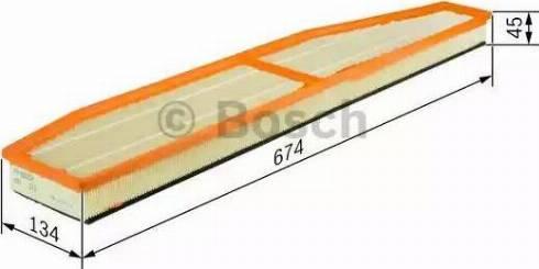 BOSCH F 026 400 147 - Filtru aer reperautotrans.ro