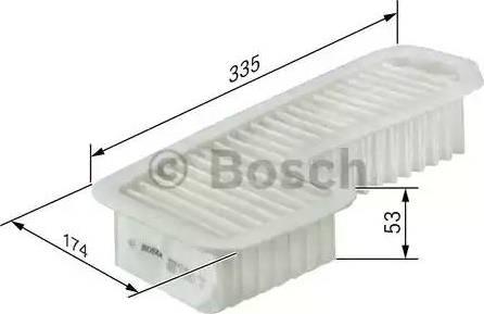 BOSCH F 026 400 158 - Filtru aer reperautotrans.ro